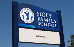 Holy Family School Message Board
