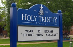 Holy Trinity School Message Board