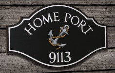 Home Port House Sign | Danthonia Designs