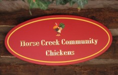 Horse Creek Community Sign