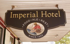 Imperial Hotel Pub Sign