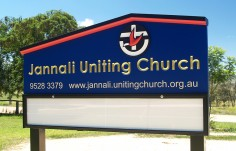 Jannali Church Message Board