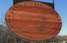 Jansal Valley Farms Sign