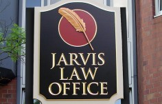 Jarvis Law Office Sign