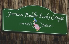 Jemima Puddle Duck Cottage Sign