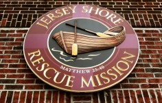Jersey Shore Rescue Mission Sign