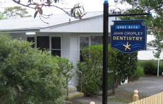 John Cropley Dental Office Sign
