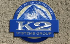 K2 Systems Company Sign
