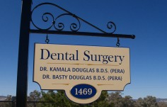 Kamala Dental Surgery Sign