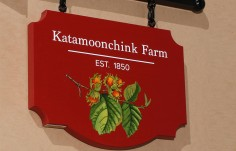 Katamoonchink Farm Sign