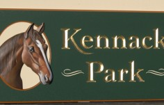 Kennack Park Property Sign