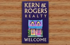 Kern & Rogers Realty Sign | Danthonia Designs