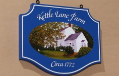 Kettle Lane Farm Sign