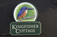 Kingfisher Cottage Sign