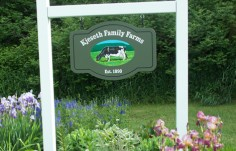Kjeseth Family Farm Sign