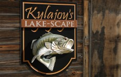 Kylajoy's Lake House Sign