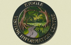 Kyogle Tourist Information Sign