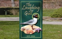 The Laughing Gull Beach House Sign