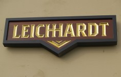 Leichhardt House Name Sign
