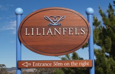 Lilianfels Resort Sign