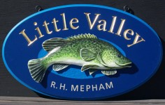 Little Valley Property Sign