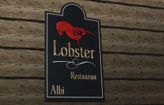 Lobster Restaurant Sign