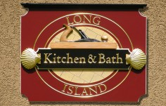 Long Island Kitchen Bath Retail Sign