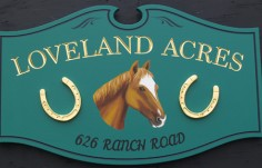 Loveland Acres Property Sign
