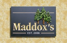 Maddox's Family Name Sign