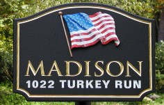 Madison Family Name Sign