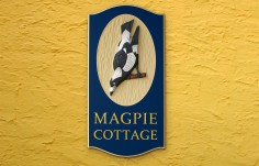 Magpie Cottage Sign | Danthonia Designs