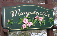 Manndevilla Rural Property Sign