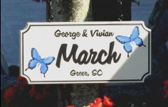 March House Sign | Danthonia Designs