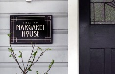 Margaret House Sign on location