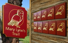 Mary Lynns Trail Signs