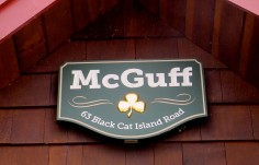 McGuff House Sign on site