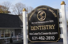 Michael Kampourakis Dentistry Sign