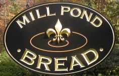 Mill Pond Bread Retail Sign