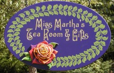 Miss Martha's Small Business Sign