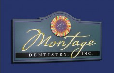 Montage Dental Sign