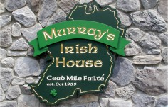 Murray's Irish House Pub Sign
