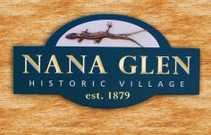 Nana Glen Village Entrance Sign