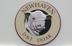 Newhaven Farm Sign