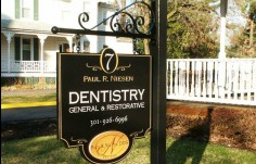 Niesen Dental Office Sign