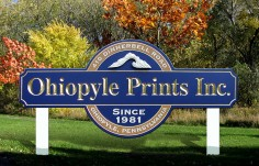 Ohiopyle Prints Business Sign