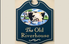 The Old Riverhouse Farm Sign