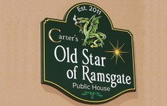 Old Star of Ramsgate Bar Sign
