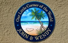 Our Little Corner Beach House Sign