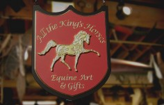 All the King's Horses Retail Sign | Danthonia Designs