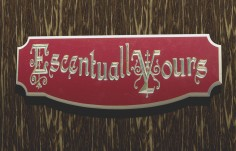 Escentually Yours Business Sign